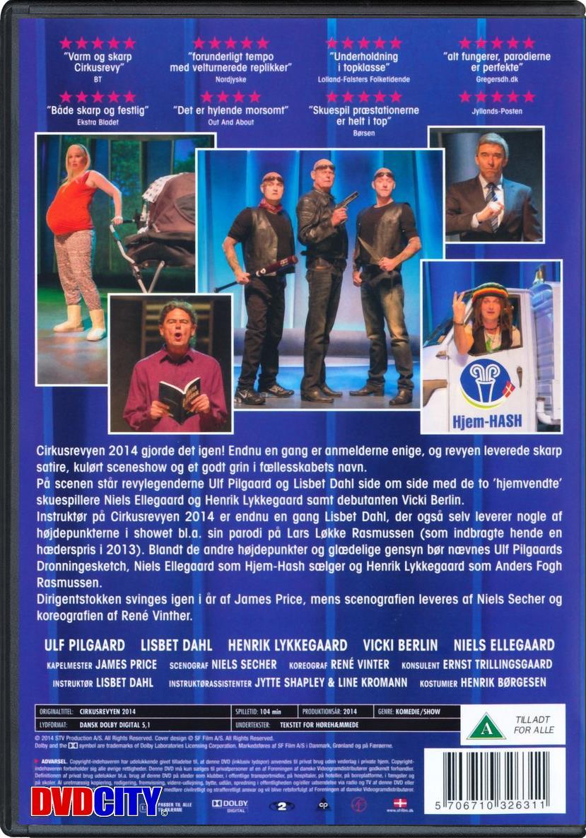 cirkusrevyen 2016 dvd