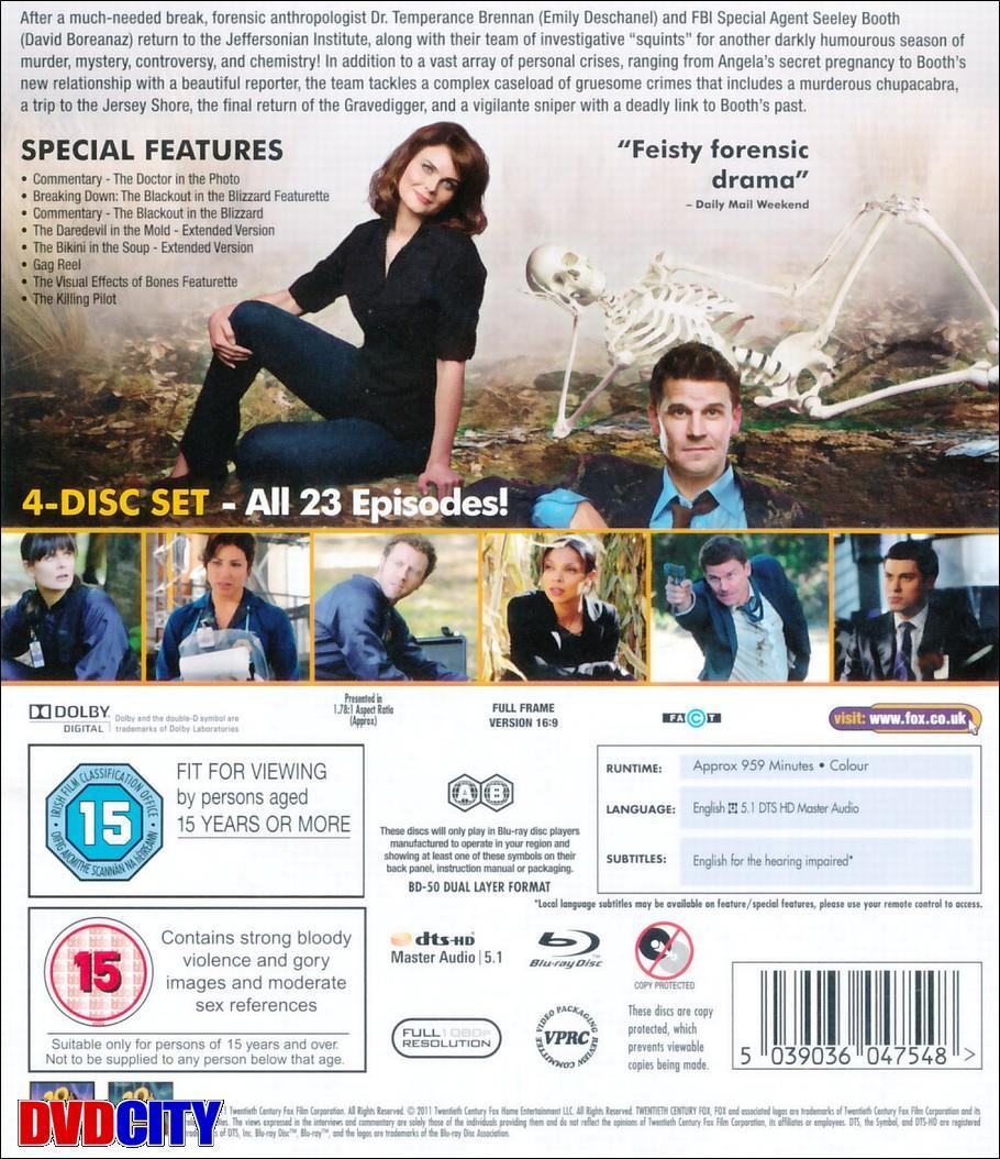 Bones - Season 6 (2010) - GamleDanskeFilm dk